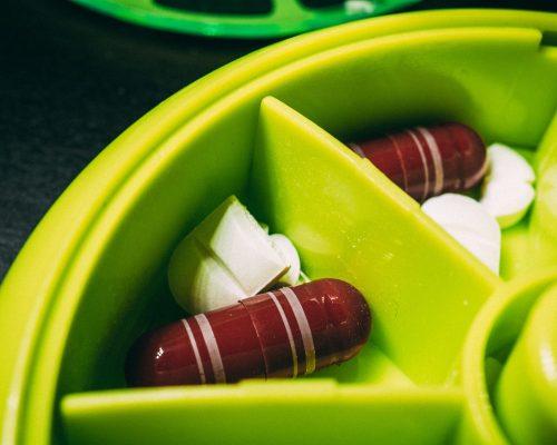 boite compléments alimentaires